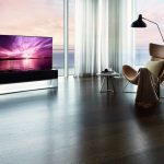 LG Signature OLED R Rollable TV