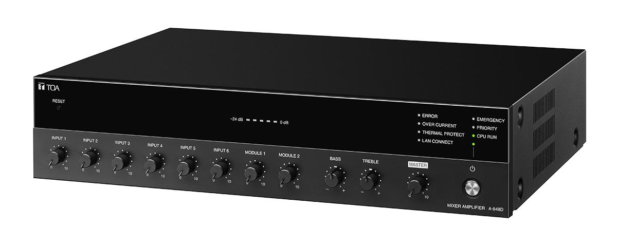 TOA A-800D digital mixer amplifier