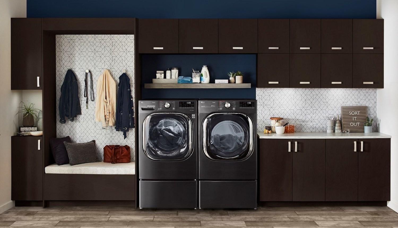 LG ThinQ AI Washer Dryer