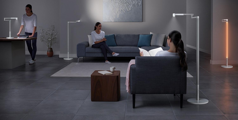 Dyson Lightcycle Morph floor model