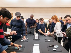 Apple AirPods Pro launch NYC