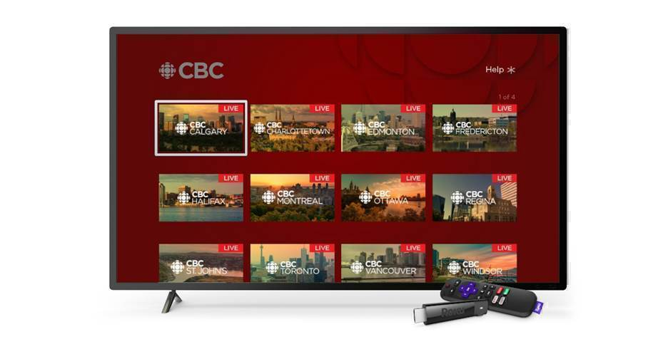 CBC TV on Roku