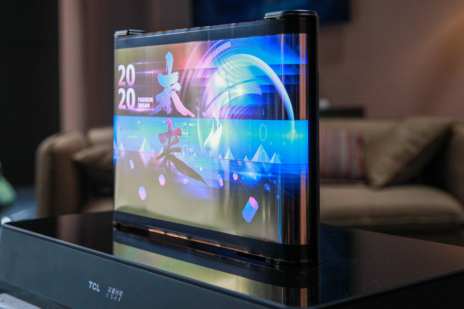 TCL Scrolling OLED