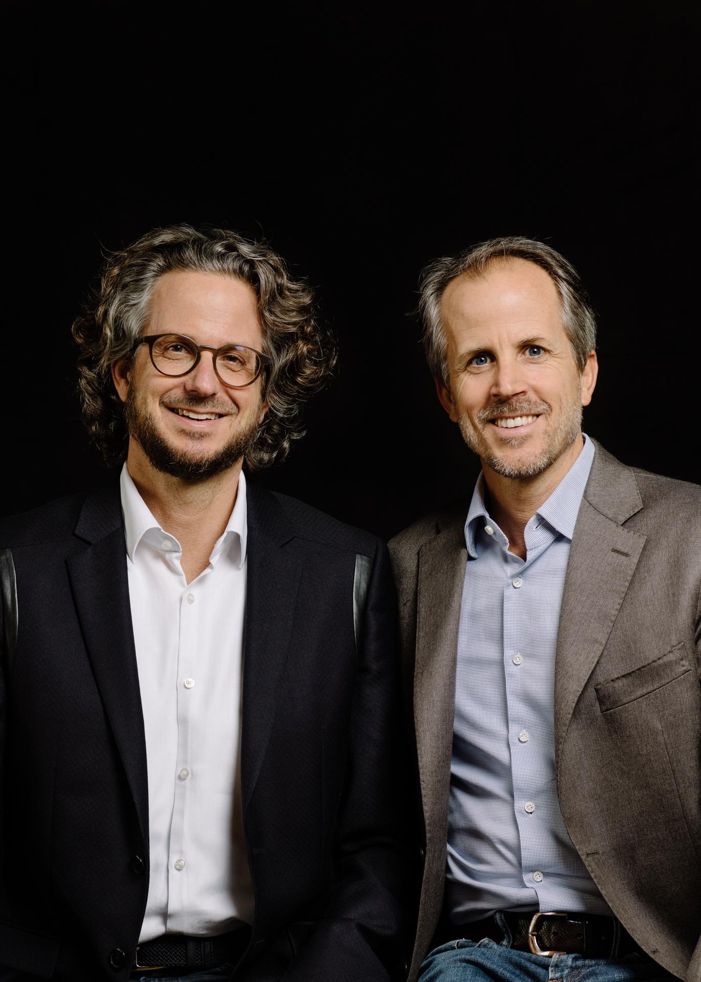Daniel and Andrea Sennheiser, co-CEOs of Sennheiser