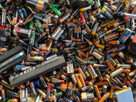 A variety of batteries