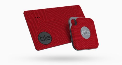 Tile Tracker Limited Edition Ruby Red
