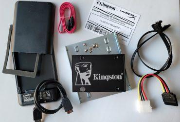 Kingston SSD Installation Kit Bundle