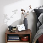 Nest Hub second gen in bedroom