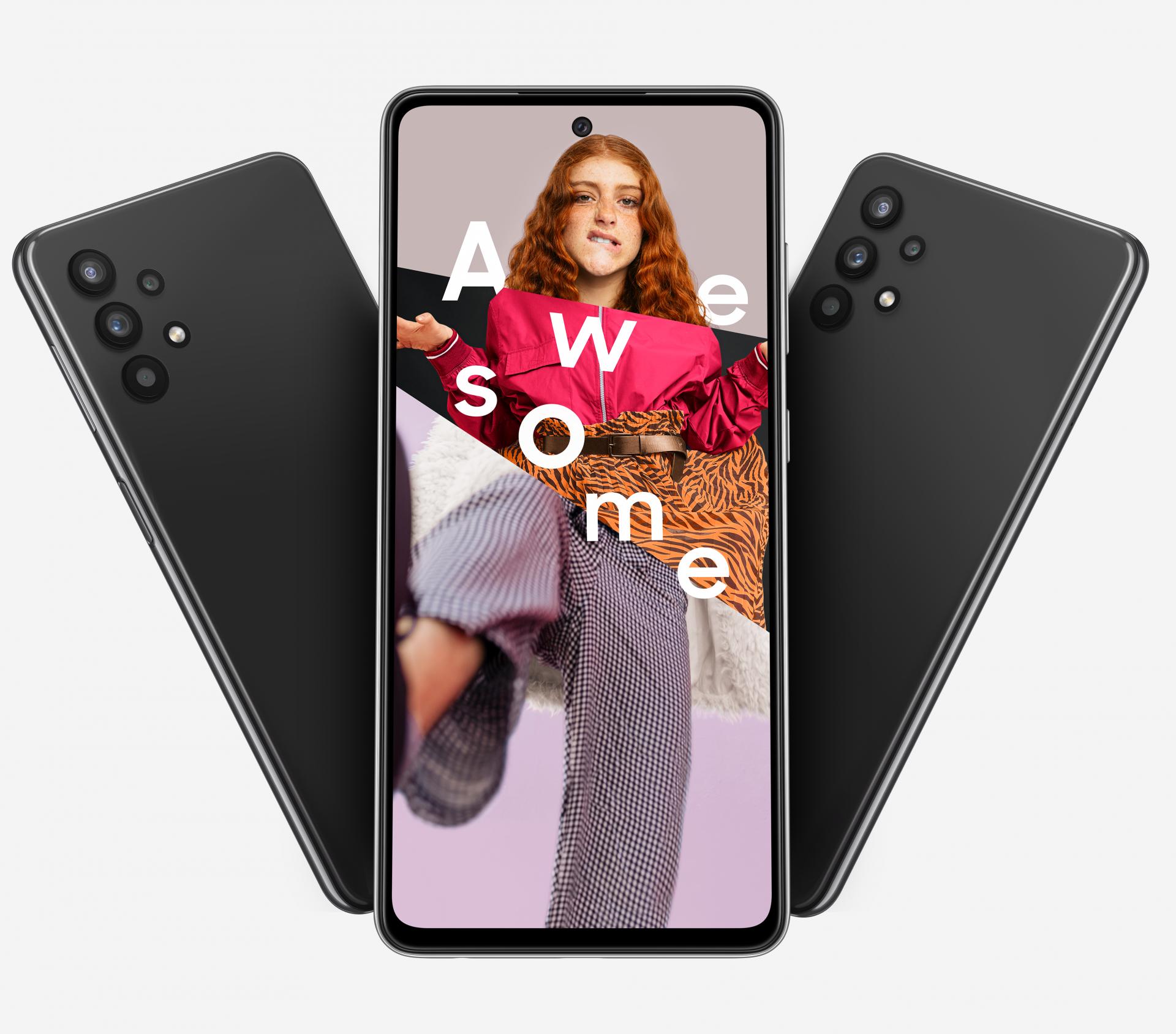 Samsung Galaxy A52 5G and A32 5G smartphones