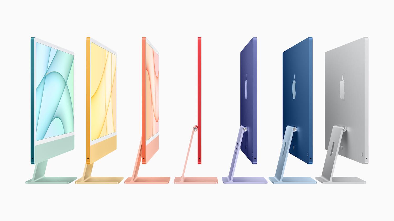 Apple iMac colours