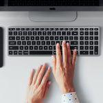Satechi X2 Slim Bluetooth keyboard