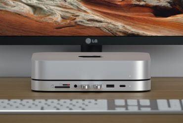 Satechi Mac Mini Stand & Hub