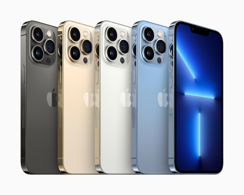 iPhone 13 Pro colours