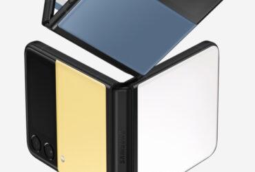Galaxy Z Flip3 Bespoke edition.